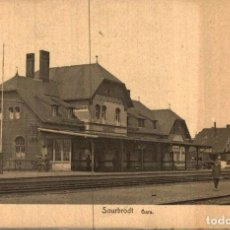 Postales: SOURBRODT GARE. Lote 185676041