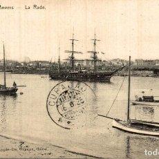 Postales: ANVERS ANTWERPEN LA RADE. Lote 185676222