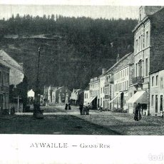 Postales: AYWAILLE : GRAND-RUE. Lote 185677112