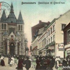 Postales: BONSECOURS BASILIQUE ET GRAND RUE. Lote 185677172