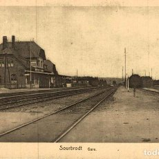 Postales: SOURBRODT GARE. Lote 185677335