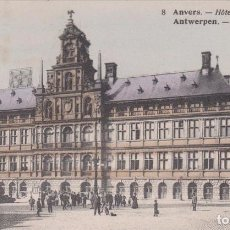 Postales: 1924 ANTWERPEN -STADHUIS ANVERS HOTEL DE VILLE. Lote 185712442