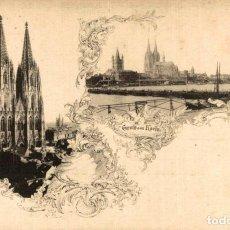 Postales: GRUSS AUS KOELN. Lote 185764475