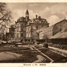 Postales: WORMS SCHLOSS. Lote 185781640