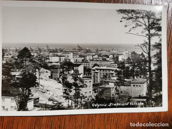 POLONIA. GDYNIA GDYNIA -VISTA DEL PUERTO ORIGINAL FINAL AÑOS 30 (Postales - Postales Extranjero - Europa)