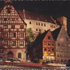 Cartes Postales: ALEMANIA, BAVIERA, CASTILLO DE NUREMBERG – KRÜGUER 927/18 – S/C. Lote 185882868