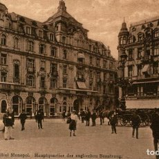 Postales: KOLN A RH HOTEL MONOPOL HAUPTQUARTIER DER ENGLISCHEN BESATZUNG GERMANY. Lote 185886861
