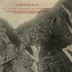 Postales: LA MONTAGNE NOIRE, GOUFFRE DE MALAMORT . FRANCIA FRANCE FRANKREICH. Lote 185932290