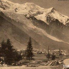 Postales: CHAMONIX ET LE MONT BLANC. FRANCIA FRANCE FRANKREICH. Lote 185940082