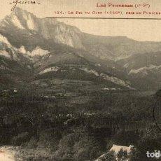 Postales: LE PIC DU FUNICULAIRE DE ST BEAT FRANCIA FRANCE FRANKREICH. Lote 185940907