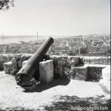 Postales: NEGATIVO PORTUGAL LISBOA 1966 KODAK 55MM GRAN FORMATO NEGATIVE PHOTO FOTO PANORÁMICA. Lote 186077288