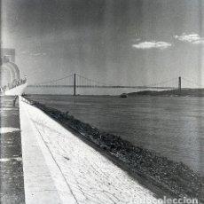 Postales: NEGATIVO PORTUGAL LISBOA 1966 KODAK 55MM GRAN FORMATO NEGATIVE PHOTO FOTO LISBON TAJO. Lote 186078510