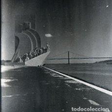 Postales: NEGATIVO PORTUGAL LISBOA 1966 KODAK 55MM GRAN FORMATO NEGATIVE PHOTO FOTO LISBON TAJO. Lote 186078873