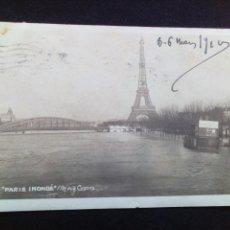 Postais: POSTAL ANTIGUA PARÍS PARIS INONDE. Lote 186143785