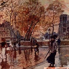 Postales: PARIS FRANCIA FRANCE FRANKREICH. Lote 186183966