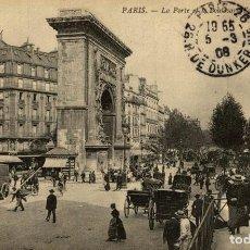 Postales: PARIS FRANCIA FRANCE FRANKREICH. Lote 186184761
