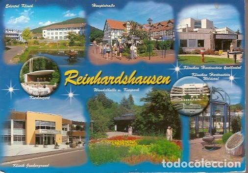 ALEMANIA & CIRCULADO, SALUDOS DESDE BAD WILDUNGEN REINHARDSHAUSEN, KASSEL A MÜCKE 2011 (8897) (Postales - Postales Extranjero - Europa)