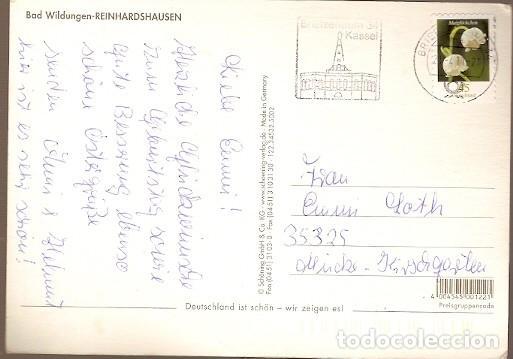 Postales: Alemania & Circulado, Saludos desde Bad Wildungen Reinhardshausen, Kassel a Mücke 2011 (8897) - Foto 2 - 186200483