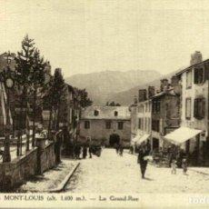 Postales: 66 MONT LOUIS - LA GRAND RUE. Lote 186212832