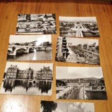 Postales: 9 MINI POSTALES DE PARIS. Lote 186215773