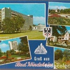 Postales: ALEMANIA & CIRCULADO, SALUDOS DESDE BAD WINDSHEIM T ALSFELD 1994 (3356) . Lote 186221742
