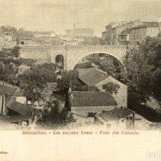 Postales: MONTAUBAN LES ANCIENS FOSSES PONT DES CONSULS. Lote 186276422