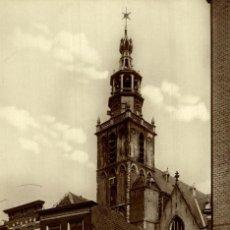 Postales: HOLLANDE - GOUDA - WIJDSTRAAT EN KERKTOREN. Lote 187213901