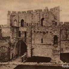 Postales: CARNARVON CASTLE. Lote 187238190