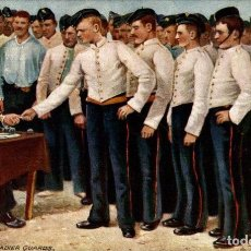 Postales: RAPHAEL TUCK: 1ST GRENADIER GUARDS `PAY DAY`. Lote 187395640