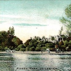 Postales: LEICESTER - ABBEY PARK. Lote 187395720