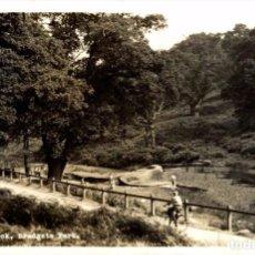 Postales: LITTLE MATLOCK BRADGATE PARK. REAL PHOTOGRAPH. Lote 187395740