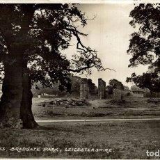 Postales: LEICESTER UNITED KINGDOM - THE RUINS BRADGATE PARK. Lote 187395783