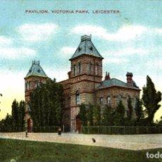 Postales: LEICESTER : VICTORIA PARK, PAVILION. Lote 187395791