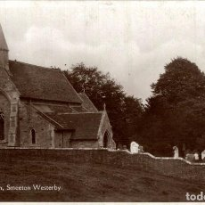 Postales: THE CHURCH, SMEETON WESTERBY. Lote 187395841