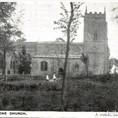 Postales: CLAYBROOKE CHURCH. Lote 187395846