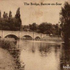Postales: THE BRIDGE, BAROW-ON-SOAR. Lote 187395877