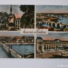 Postales: POSTAL TOULOUSE FRANCIA 1954 . Lote 187509142