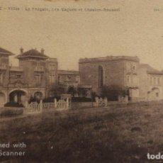 Postales: TARJETA POSTAL DE FRANCIA-BIARRITZ: LA FRAGATE LES VAGUES ET CHASLON-ROUSSEL.. Lote 188620357