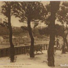 Postales: TARJETA POSTAL DE FRANCIA-BIARRITZ: VUE SUR LE PORT DES PECHEURS. . Lote 188620373
