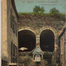 Postales: TARJETA POSTAL DE FRANCIA-DINAN-LA PORTE DE JERZUAL.. Lote 188620403