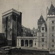Postales: TARJETA POSTAL DE FRANCIA-PAU. ENTREE DU CHATEAU-. COUR D'HONNEUR.. Lote 188620420
