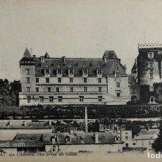 Postales: TARJETA POSTAL DE FRANCIA-PAU. LE CHATEAU, VUE PRISE DE GELOS.. Lote 188620438