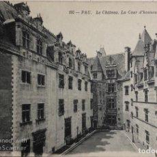 Postales: TARJETA POSTAL DE FRANCIA-PAU. LE CHATEAU. LA COUR D'HONNEUR.. Lote 188620456