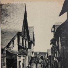Postales: TARJETA POSTAL DE FRANCIA-DINAN- LA RUE DU JERSUAL.. Lote 188621076