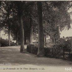 Postales: TARJETA POSTAL DE FRANCIA-DINAN- LA PROMENADE SUR LES VIEUX REMPARTS.. Lote 188621126