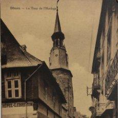 Postales: TARJETA POSTAL DE FRANCIA-DINAN-LA TOUR DE L'HORLOGE... Lote 188621360