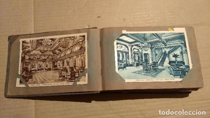Postales: Álbum antiguo con 98 postales, de Roma y otras ciudades europeas. Inicios S XX - Foto 7 - 188669680