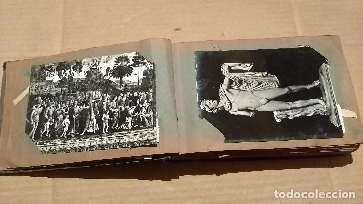 Postales: Álbum antiguo con 98 postales, de Roma y otras ciudades europeas. Inicios S XX - Foto 11 - 188669680
