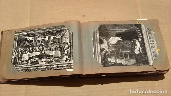 Postales: Álbum antiguo con 98 postales, de Roma y otras ciudades europeas. Inicios S XX - Foto 13 - 188669680