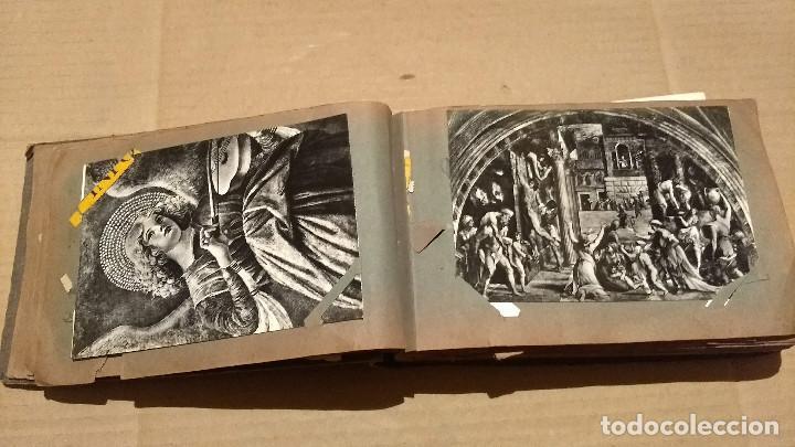 Postales: Álbum antiguo con 98 postales, de Roma y otras ciudades europeas. Inicios S XX - Foto 14 - 188669680